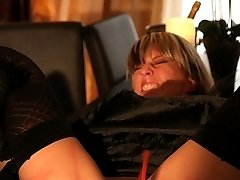 Extreme ass and pussy whipping