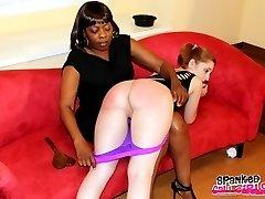 Madam Lana Spanks Dani & Ginger for Fighting