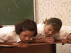 Brutal classroom punishments for 5 pretty school girls