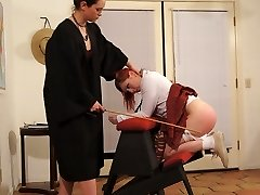 The schoolteacher's caning methods