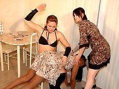 Lana gets spanked!