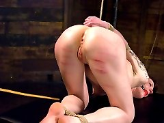 After a long break, one of the best models in BDSM has returned to Whippedass to be dominated by Maitresse Madeline.  Nina gets put through her paces from painful implements such as the single tail and cane.  She also enjoys crying as an emotional release from the intensity of the session.