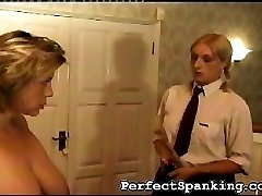 Her supervisor doesn't take this lightly. She has to tell the school Mistress.