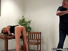 Cora loves pestering our spanking Master. No one punishes her like he does.