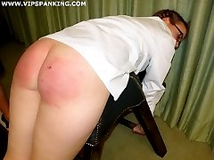 Hard spankings for disobedient young schoolgirls