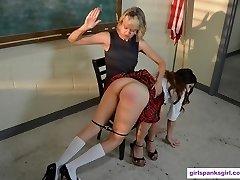 Spanking in Detention