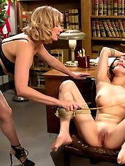 18 year old, Lea hart, returns to Whipped Ass for a kinky taboo fantasy about a young student in...