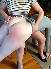 Virgin Spanked in Office