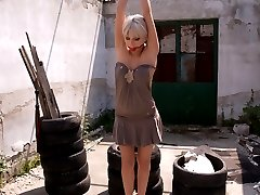 Stella Del Croix is a beautiful French girl who submits to Sandra Romain on location in...