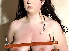 Having passed part one of her test, Rosie gets her first session in the dungeon with me.