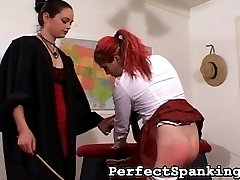 Our sexy Principal has so much on her plate nowadays, she really has no time to discipline her students. But when she is notified a student was caught in the shower fooling around with another, she makes time for a punishment.