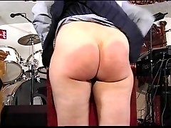 Two girls spanked at once