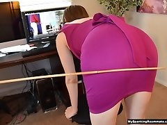 Linny Flagellated in the Office