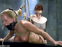 The multi orgasmic Dia Zerva makes her explosive debut at Whippedass with Claire Adams.  These two play amazingly well together as they explore the physical and psychological realms of BDSM!
