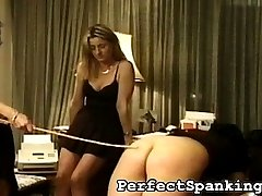 Have you ever heard of a caning competition? Well, the best way to be enlightened is to watch this spanking video.