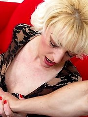 This naughty older lady loves to get it in POV style