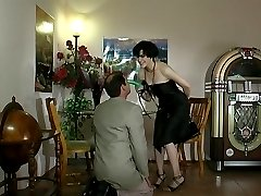 Lusty chick with strap-on taking kicks from impaling guy�s butt mercilessly