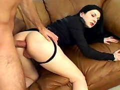 An insatiable amateur gets ass fucked in this hardcore scene