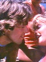 Ginger Lynn fucked in a boat orgy