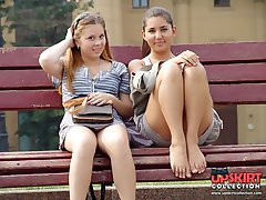 The best of russians upskirts