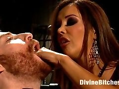 Mistress Francesca Le could give a shit if you get off nor if you ever are able to use your cock...