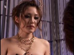 two asian women spank man femdom video