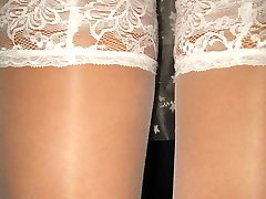 Skillful upskirt closeups of hotties