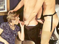 Retro ladies getting fucked