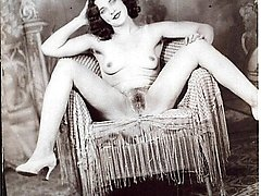Mischievous vintage naked chicks