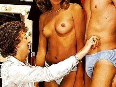 Seventies girls suck cock