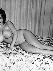 Sexy vintage pics with big titted fem getting fucked