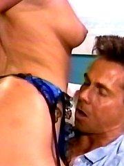 PJ Sparxx takes Peter Norths big pole and cumshot
