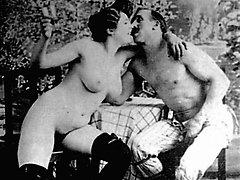 Antique couples having fuck-fest