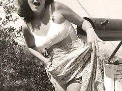 Vintage females show bodies