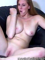 Naked jerk teasing