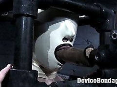 Swiss visits Device Bondage and gets put through several punishing experiences while locked up...