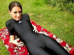 spandex ass booty