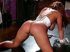 Girl gets her pussy and tits tortured