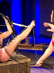 Lea Lexis and Savannah Fox have great chemistry in this erotic dungeon update. Savannah Fox cant...