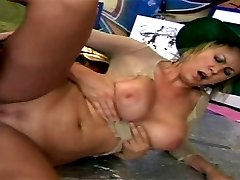 Innocent blonde penetrated