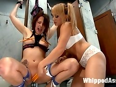 Welcome Alisha Adams to Whipped Ass and Lea Lexis our hot and evil Romanian domming for the...