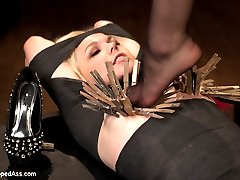 After a several month leave of absence, Bobbi Starr returns to Whipped Ass! Though shes a little...