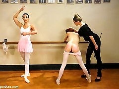 Wenona and Sasha Lexing are two ballerinas in training who get used and abused by kinky...