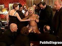 Sasha Knox has always fantasied about being bound helpless and used by a large group of men and...