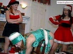 Christmas Spankings