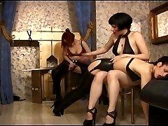 Four girl spanking video