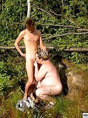 Mutual men pleasure