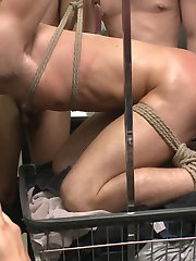 With his music blasting too loud, Tyler Rush acts like an obnoxious little fuck in the...