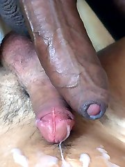 Brown stud and a boy shoot off after intense anal