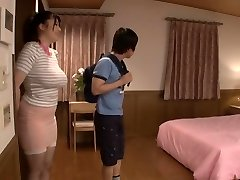Exotic Japanese model in Horny Nipples, Threeway JAV movie